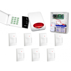 Alarm Satel CA-6 LED, 7xTopaz, syg. zew. SPL-5010