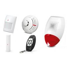 Alarm Satel Micra, MPT-300, 2xMPD-300, MSD-300, MMD-300, syg. zew. SP-300