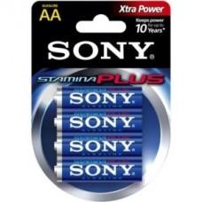 Baterie SONY AA LR6 ALKALINE (blister 4szt.)