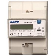 WSKAŹNIK ZUŻYCIA ENERGII ORNO OR-WE-507 3-FAZOWY