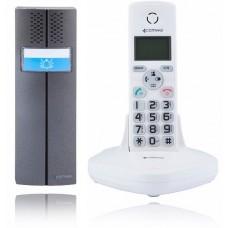 Domofon bezprzewodowy COMWEI D102W, teledomofon Biały