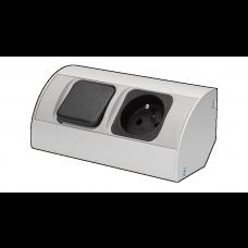 Gniazdo meblowe z wyłącznikiem, 1x230V OR-AE-1302 ORNO