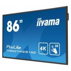 "Monitor LED IIYAMA TH8667MIS-B1AG 86"" 4K dotykowy"
