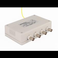Panel 4-kanałowy zabezpieczający systemy HD z konwerterem UTP EWIMAR LHD-4-EXT-FPS