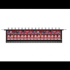 Zabezpieczenie przeciwprzepięciowe na koncentryk i skrętkę serii Extreme z dystrybucją zasilania  EWIMAR LHD-16R-EXT-FPS