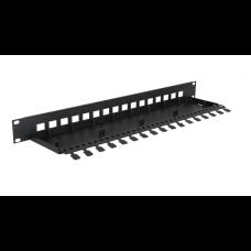 Obudowa do szafy RACK 19' na 4 kanałowe moduły przepięciowe EWIMAR PTU/PTF-RACK