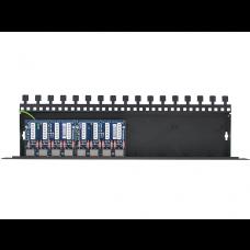 8-kanałowy panel zabezpieczający LAN z podwyższoną ochroną przepięciową PoE EWIMAR PTU-58R-PRO/PoE