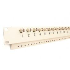 16-kanałowy panel z transformatorami wideo do szafy RACK EWIMAR FKT-16