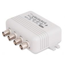4-kanałowy transformator wideo z zabezpieczeniem EWIMAR LKT-4