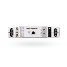 AC-160-DIN Bezprzewodowy wielofunkcyjny moduł wyjścia PG na szynę DIN JABLOTRON AC-160-DIN