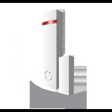 JA-150M Bezprzewodowa czujka otwarcia z funkcją transmitera, kolor biały.
