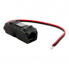 Adapter PoE PASSIVE 1 kanałowy 10/100 ATTE AEPI-1-10-HS