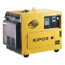 Agregat prądotwórczy Kipor KDE6700TA 5.0kVA