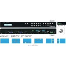 Key Digital Matryca multi-view HDMI/VGA/POH/HDBT KD-MLV4x2Pro
