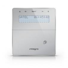 Manipulator bezprzewodowy SATEL INT-KWRL-SSW - dla systemów INTEGRA Srebrny