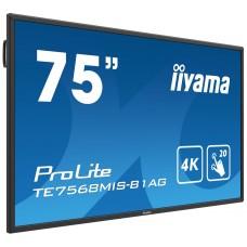 "Monitor LED IIYAMA TE7568MIS-B1AG 75"" dotykowy"