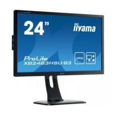 """Monitor LED IIYAMA XB2483HSU-B3 C 24"""" HDMI DisplayPort HAS Pivot"""