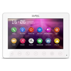Monitor wideodomofonu ZAMEL 7'' VP-808W