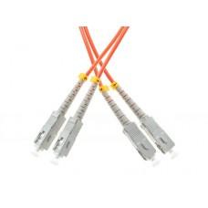 PATCHCORD ŚWIATŁOWODOWY MM 10M DUPLEX 50/125um OM2, SC-UPC/SC-UPC