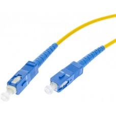 PATCHCORD ŚWIATŁOWODOWY SM 3M SIMPLEX 9/125, SC/UPC-SC/UPC 3MM