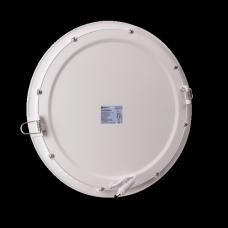 Plafon okrągły podtynkowy aluminiowa obudowa PL3-C-24W