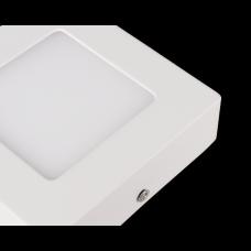 PLAFON LED KWADRATOWY 6W 360LM 3000K (ciepłobiała)