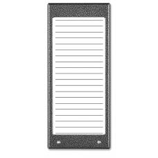 ACO CDN-17N ST Podświetlany panel listy lokatorów (ok. 17 wpisów)