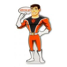 Stand z Superbohaterem na biurko