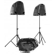 System mobilnego nagłośnienia SECAS SY-130 2 x 150W RMS