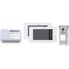 Wideodomofon 2-rodzinny VIDOS DUO 2 x M1021W / S1102A