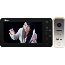 Wideodomofon NICE Look G 7'' obsługa bramy wjazdowej