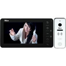 Wideodomofon NICE Look PLUS 7'' obsługa bramy wjazdowej + czytnik breloków