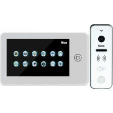 Wideodomofon NICE Pro WPlus W 7'' obsługa bramy wjazdowej + czytnik breloków