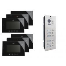 Wideodomofon VIDOS 6 x M670B/S606