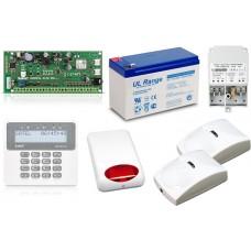 Zestaw alarmowy SATEL PERFECTA 16, Klawiatura LCD, 2 czujniki ruchu PET, sygnalizator zewnętrzny, powiadomienie GSM