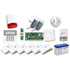 Zestaw alarmowy Satel PERFECTA 16, LCD, 6 x RUCH, 1 x DYM, syg. zewnętrzny