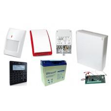 Alarm SATEL BEZPRZEWODOWY  INTEGRA 128WRL GSM 8 x PIR Syg.zew.