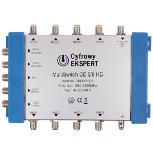 MULTISWITCH TECHNISAT CE 5/8