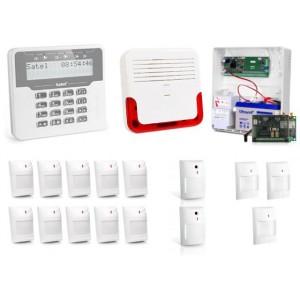 Alarm Satel Versa 15 LCD, 10xAQUA+/2xNAVY/3xGREY, SD-6000, GPRS-A
