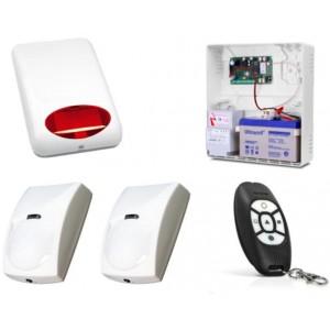 Alarm Satel Micra, MPT-300, 2xBINGO, syg. zew. SPL-5010