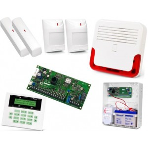 Alarm Satel CA-5 LCD, 2xAQUA PLUS, 2xVD-1, syg. zew. SD-6000R