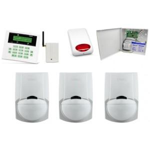 Alarm Satel CA-5 LCD, GSM, 3xLC-100 PI, syg. zew. SPL-5010R
