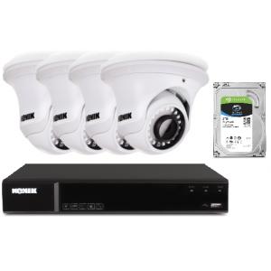 Zestaw monitoringu IP domu 5MPX Kenik