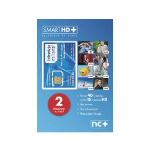 KARTA STARTOWA SMART HD+ 2 MIESIĄCE