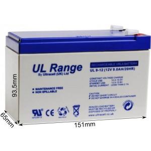 "Akumulator AGM ULTRACELL UL 12V 9AH ""żelowy"""