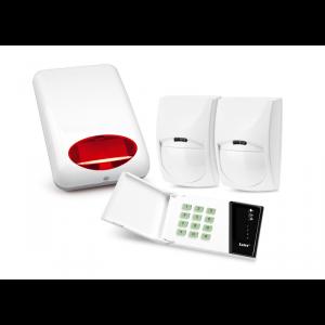 Zestaw alarmowy Satel CA-4 LED, 2 x czujka ruchu, sygnalizator zewnętrzny