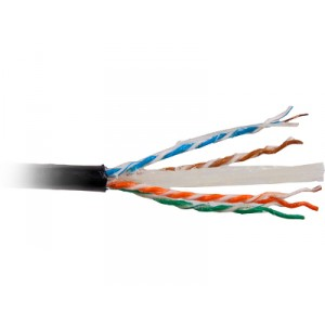 KABEL TELEINFORMATYCZNY KAT.6 U/UTP ZEWNĘTRZNY ŻELOWANY 500m