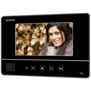 Monitor wideodomofonu czarny ORNO OR-VID-YT-1007MV/B