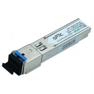 MODUŁ SFP WDM OPTIC SFP 1.25Gbps, SC SM, 20km TX1310/RX1550