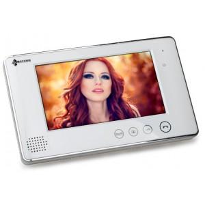 Monitor wideodomofonu 7 cali PROCOMM VP-716/W biały